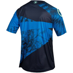 Endura SingleTrack Dots LTD Koszulka techniczna Mężczyźni, navy blue